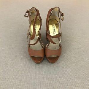 Miachel Kors Wedge Heels Size 5